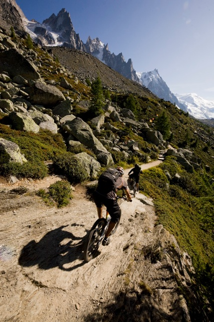 chamonix mountain biking